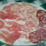 Appetizer of cold cuts